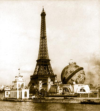 Paris Photographs, World Fair Exhibition, 1900. Posters, pictures and photos.