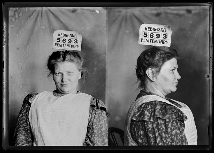 """Fainting Bertha"" Liebbeke - notorious pickpocket in IL, KS, IA, MO, and NE. Stumbled into men, ""fainted"", and robbed them"