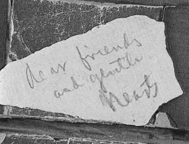 In Stephen Foster's handwriting