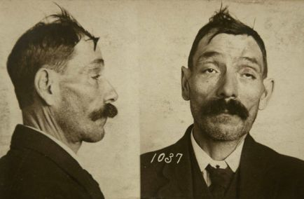 Fred Welker, also known as Flying Dutchman, was arrested December 22, 1914 on burglary charges. He was later sentenced to 2-15 years in Jackson State Prison