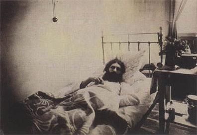 Rasputin gesture