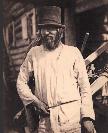 This Russian peasant shared the same social class as Rasputin, and appears just as unlikely to befriend the imperial family.