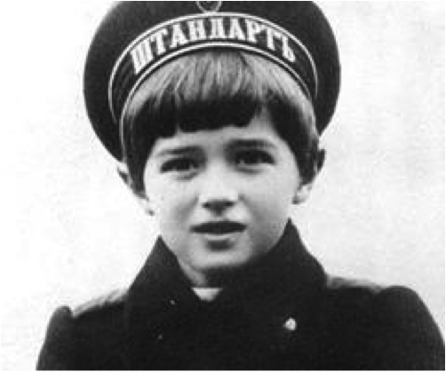Tsarevich Alexei. Possibly the most angelic looking child ever.