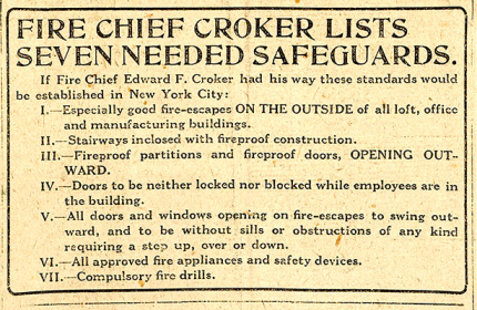 fire chief croker