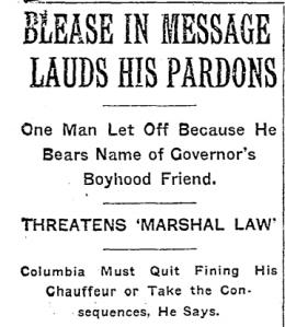New York Times 1914 headline