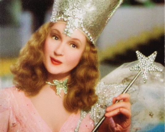 Burke was 55 when she starred in the Wizard of Oz as Glinda the Good Witch