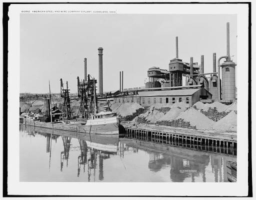 American Steel and Wire Company in Cleveland, Ohio