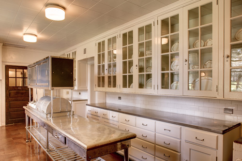 State-of-the-art Butler's pantry at Reynolda
