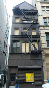 Stanford White's studio at 22 West 24th Street collapsed in 2007.