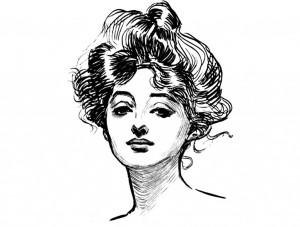 A Gibson Girl