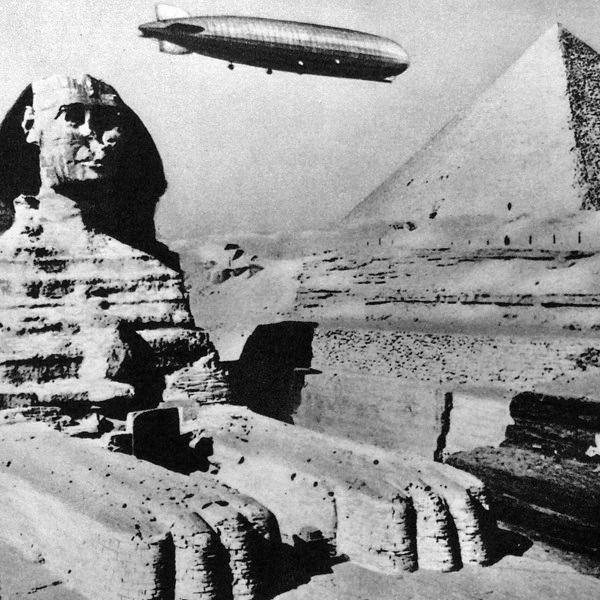 sphinx and zeppelin