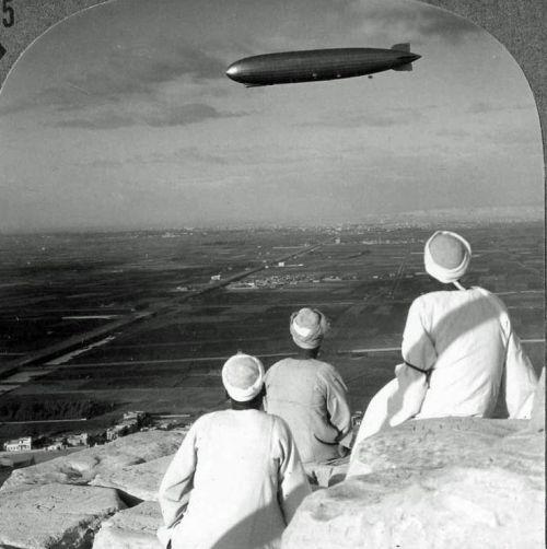 three men watching