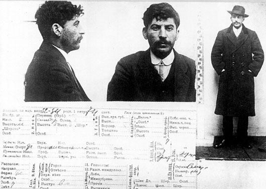 1908 stalin-arrested
