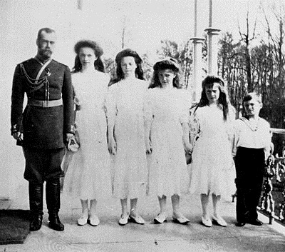 tsar and children