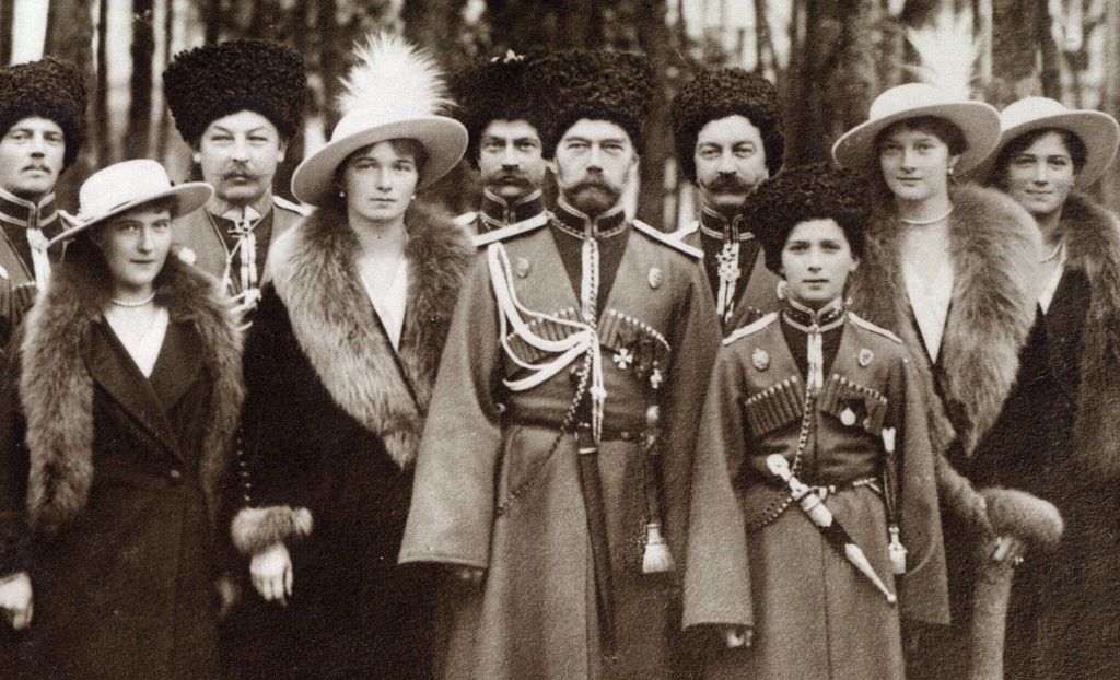 tsar with his children