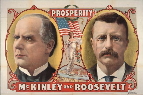 McKinley and Roosevelt