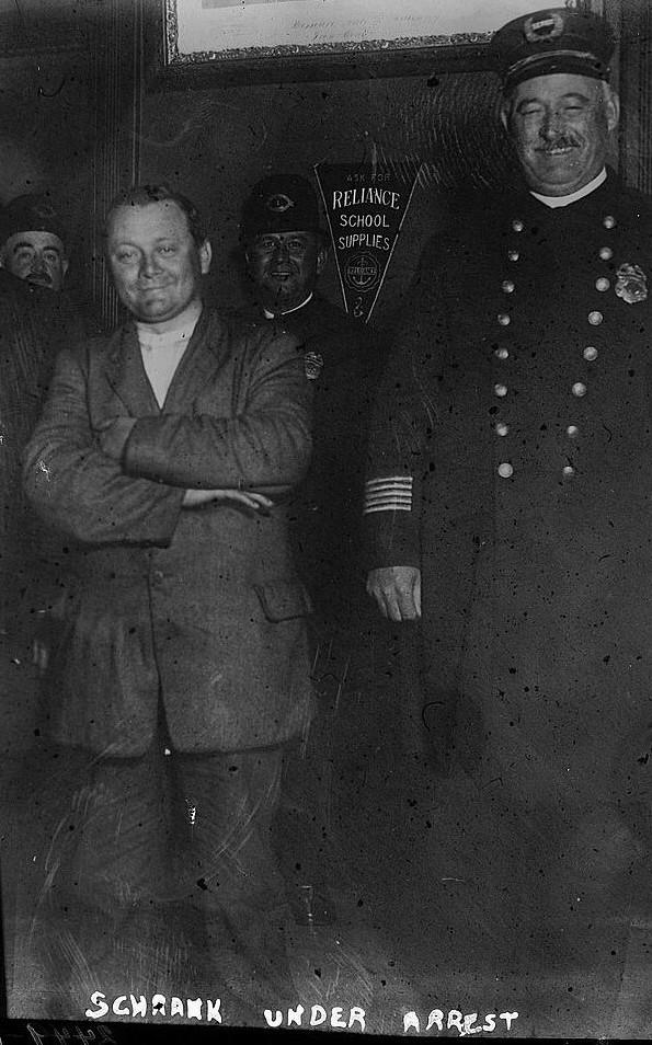 Schrank in custody