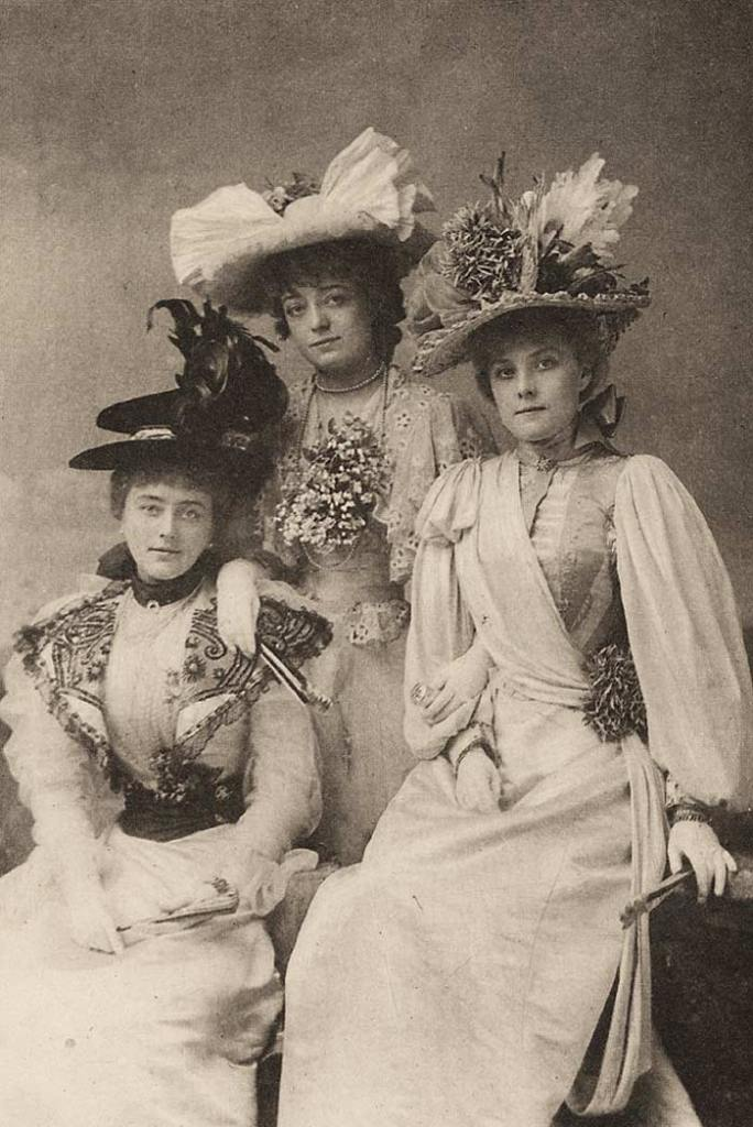 The Gaity Girls, of London, in 1896