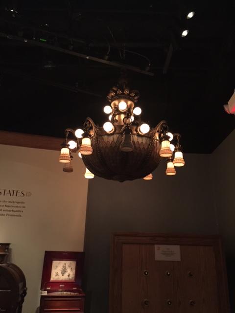 Massive chandelier