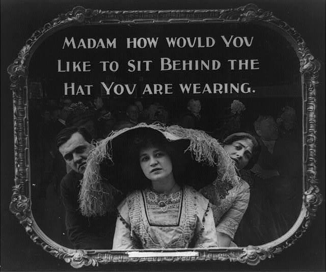 madam your hat
