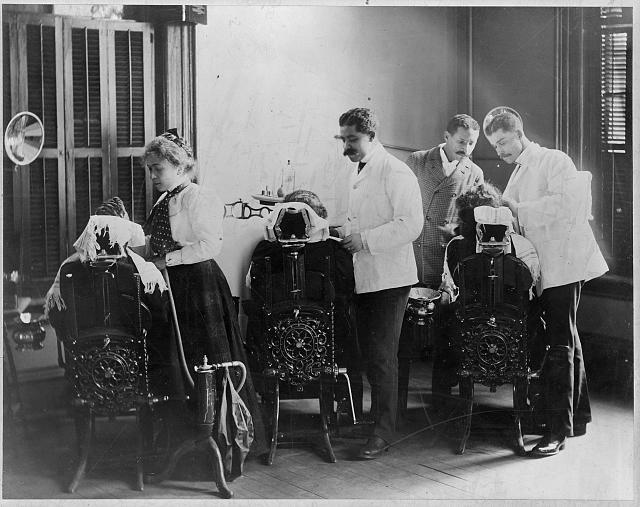 Dentistry at Howard University, Washington, D.C., circa 1900