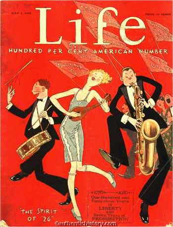Life Magazine cover July 1 1926