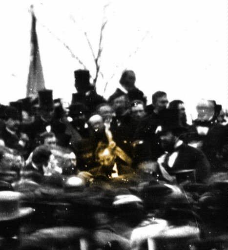 Lincoln Gettysburg 50 year anniversary 1913
