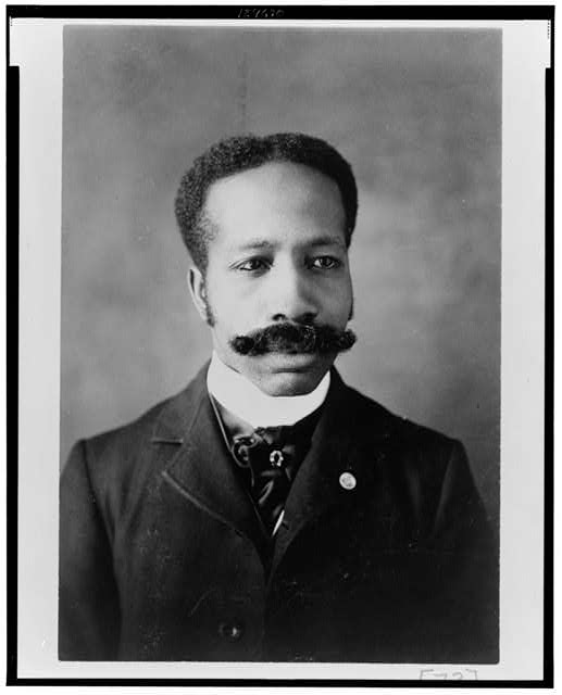 A gentleman, circa 1900, with an impressive mustache Reproduction Number- LC-USZ62-124670