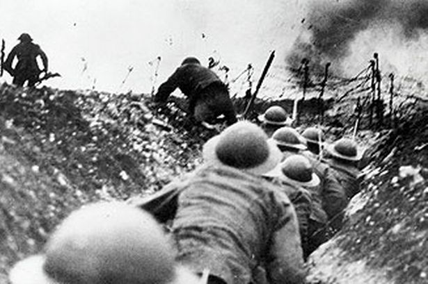 The Battle of the Somme, 1916, one of the largest battles