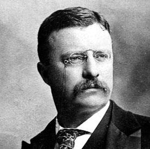 Theodore Roosevelt, circa 1898. United States' most fascinating president.