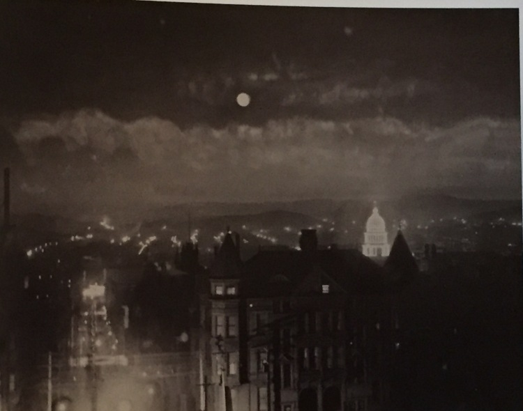 San Francisco, on a still evening in 1903