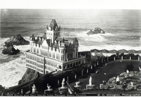 The Victorian Cliff House was finished in 1896