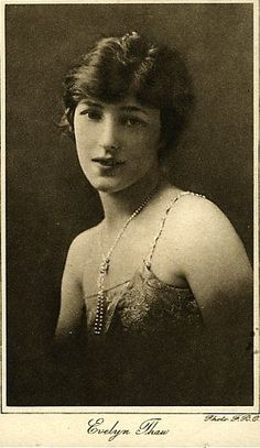 A photograph with Evelyn's married name inscribed
