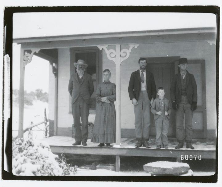 Family on the Porch, circa 1897
