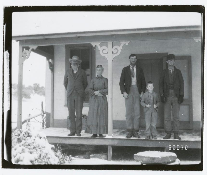Family on the Porch, circa 1897